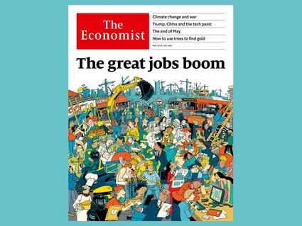 O Boom dos Empregos no Mundo Rico