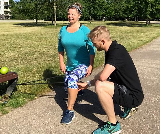 WAIRUA BEWUSST LEBEN - BEWUSST BEWEGEN Personal Training REHA Übung