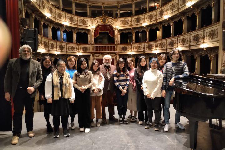 Masterclass al Teatro G. Verdi di Busseto