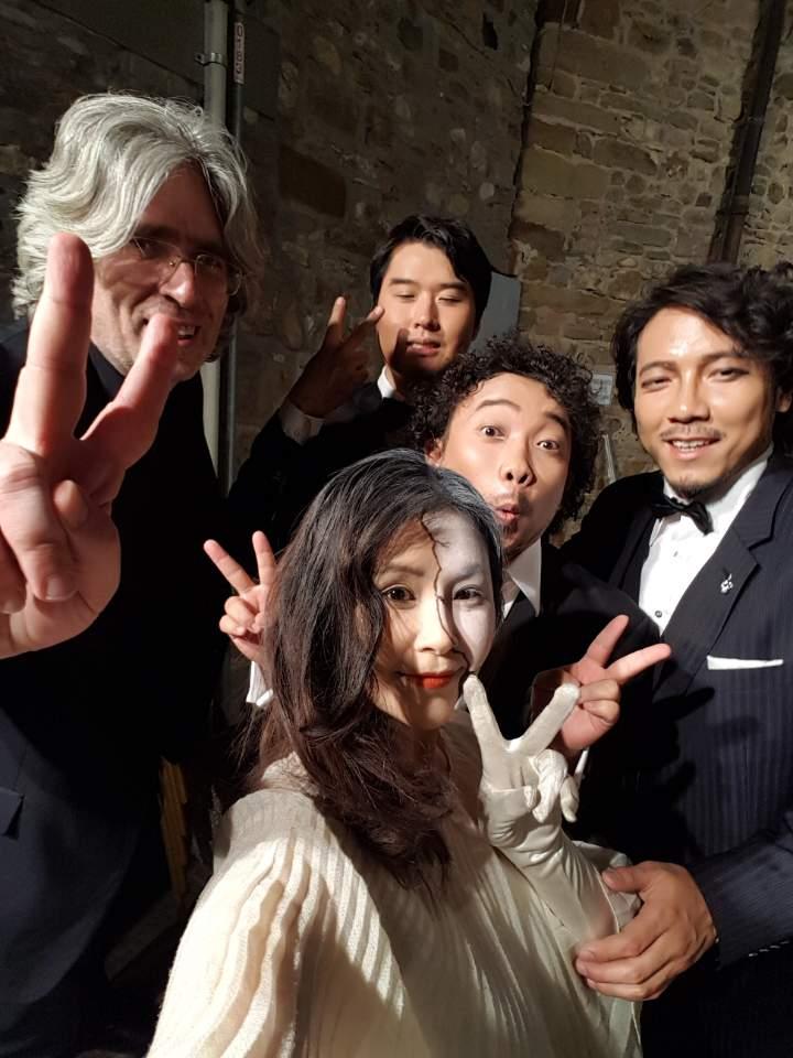 Selfie post Traviata luglio 2017