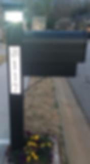 Home Emergency Lamp Post