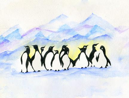 Ink Penguins