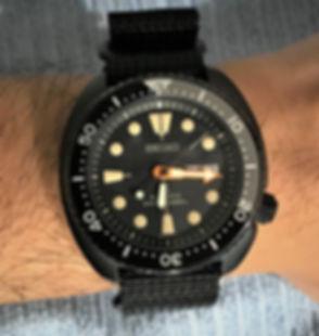 Seiko Black Turtle Wrist Patina.jpg