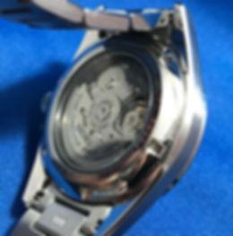 Seiko Presage SRP465J1 Back View
