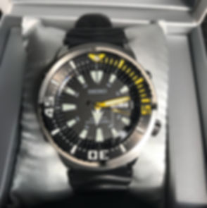 Seiko Yellow Fin Baby Tuna Box