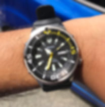 Seiko Yellow Fin Baby Tuna