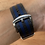 Thumbnail: WatchDaddy 22mm NATO Strap - Dark Grey and Blue
