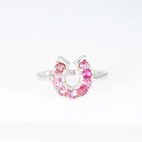 Lucky Rubellite Ring