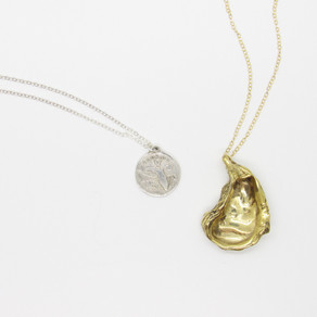 Long Oyster Necklace