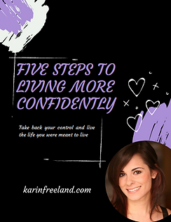 Five Steps to Living More Confidently Cover