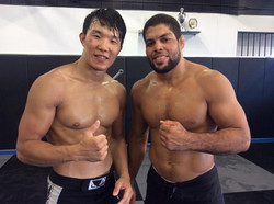 Youngam and Andre Galvao