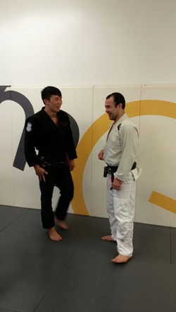 Youngam with Marcelo Garcia