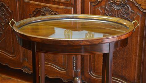 An Edwardian  mahogany Tray Top Table. R6995