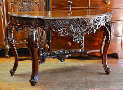 A Finely carved mahogany Console Table. R8995