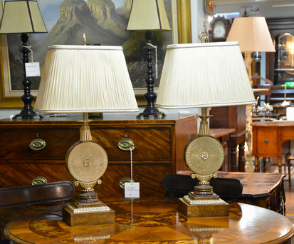 A pair of Table Lamps. R2295 each