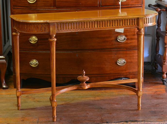 A 20th Century Console Table. R3995