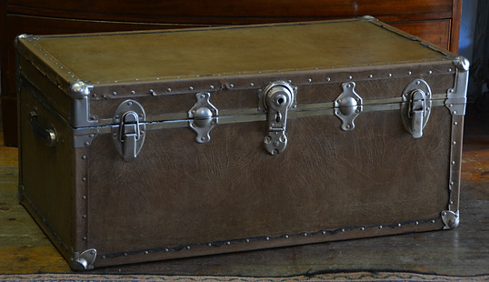 A Vintage Travel Trunk. R4995