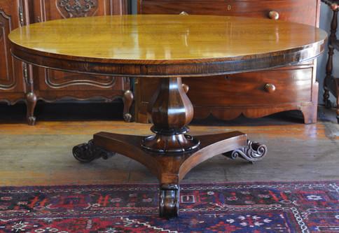A Victorian oak & mahogany Centre Table. R14995