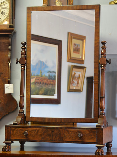 A fine early Victorian Gentleman's Dressing Mirror. R9995