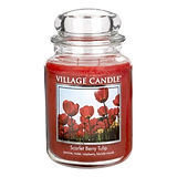 VILLAGE-CANDLE_Scarlet-Berry-Tulip_26OZ_