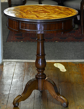 A 20th Century inlaid Occasional Table. R4995