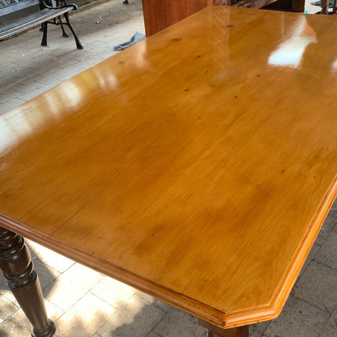 Yellowwood Table - After