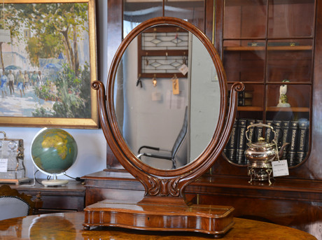A Victorian mahogany Table top Mirror. R5495