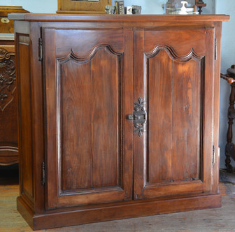 A 19th Century French fruitwood two door Cabinet. R9995