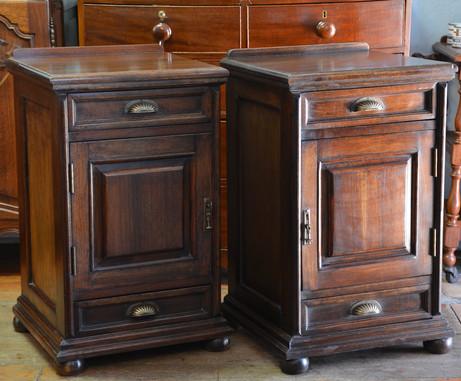 A pair of mahogany Bedside Pedestals. R5995 each