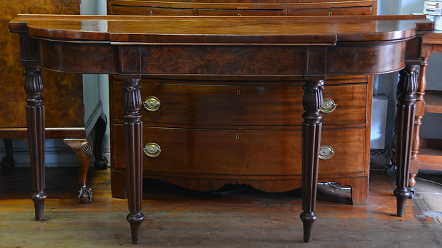 A William IV mahogany Console Table/Server. R14995