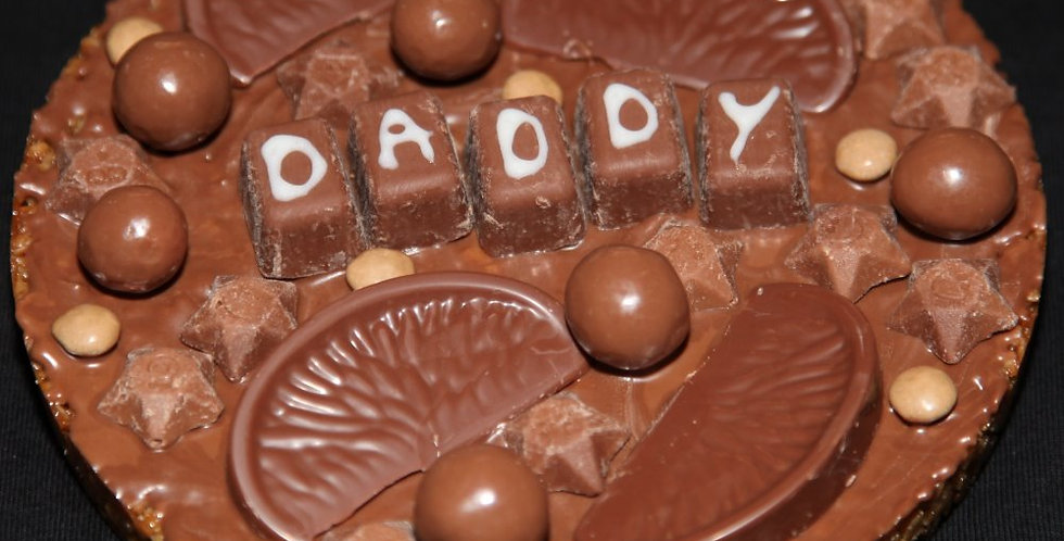 Personalised Chocolate Pizza!