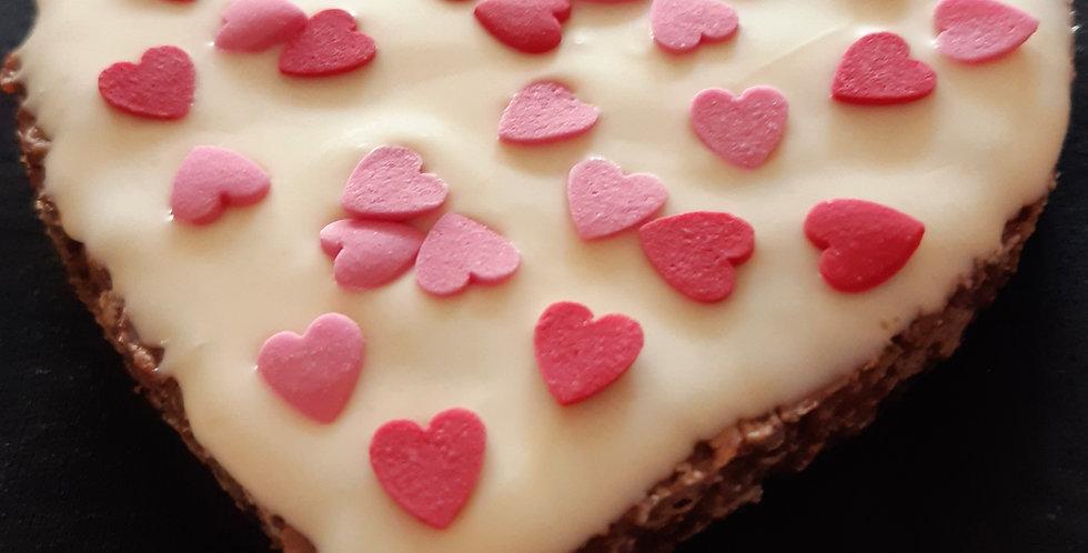 Triple Chocolate Heart