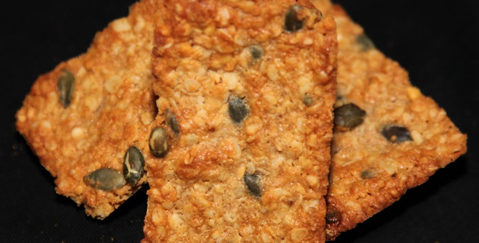 Peanut and Pumpkin Seed Protein Bars