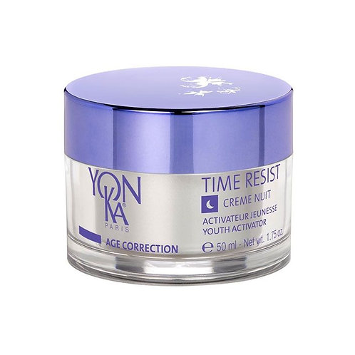 Time Resist Creme Nuit/Youth Activator Night Cream for age 40+ - 50 ml