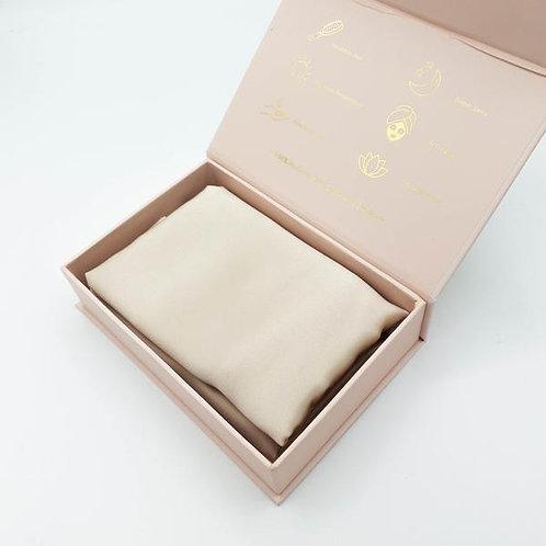 Luxury Mulberry Silk Pillowcase (Champagne)