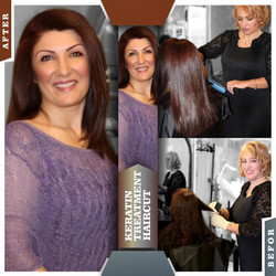 KERATIN TREATMENT & HAIRCUT