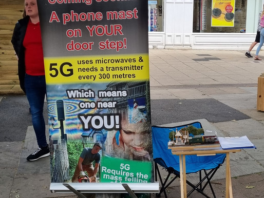 5G Global Protest