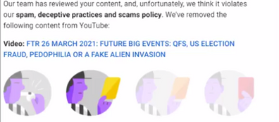 YOUTUBE CENSORSHIP IS GETTING CRAZY