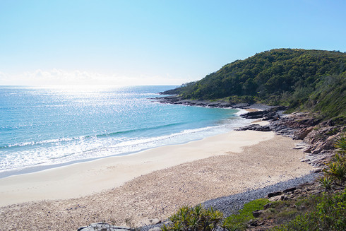 Coral Sea and Noosa National Park