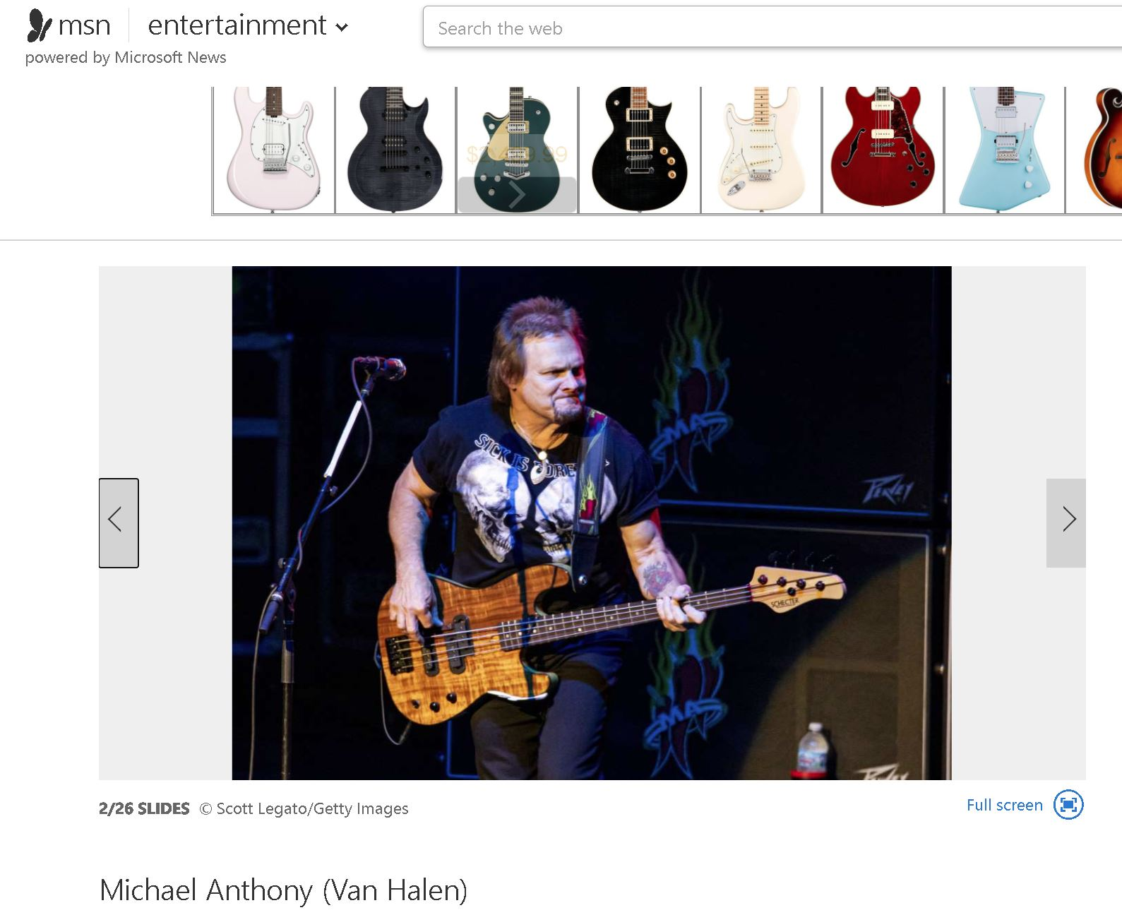 MSN - Michael Anthony