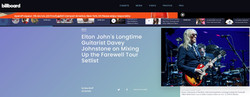 Davey Johnstone of Elton John - Billboard