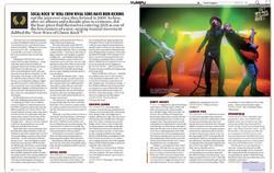 Dirty Honey - Guitar World Print - June
