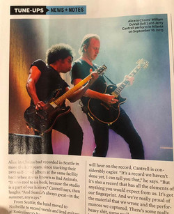 ALICE IN CHAINS - GUITAR WORLD