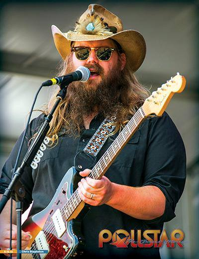 CHRIS STAPLETON - POLLSTAR COVER