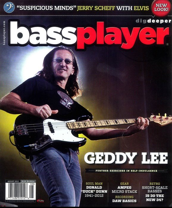 GEDDY LEE - BASS GUITAR COVER