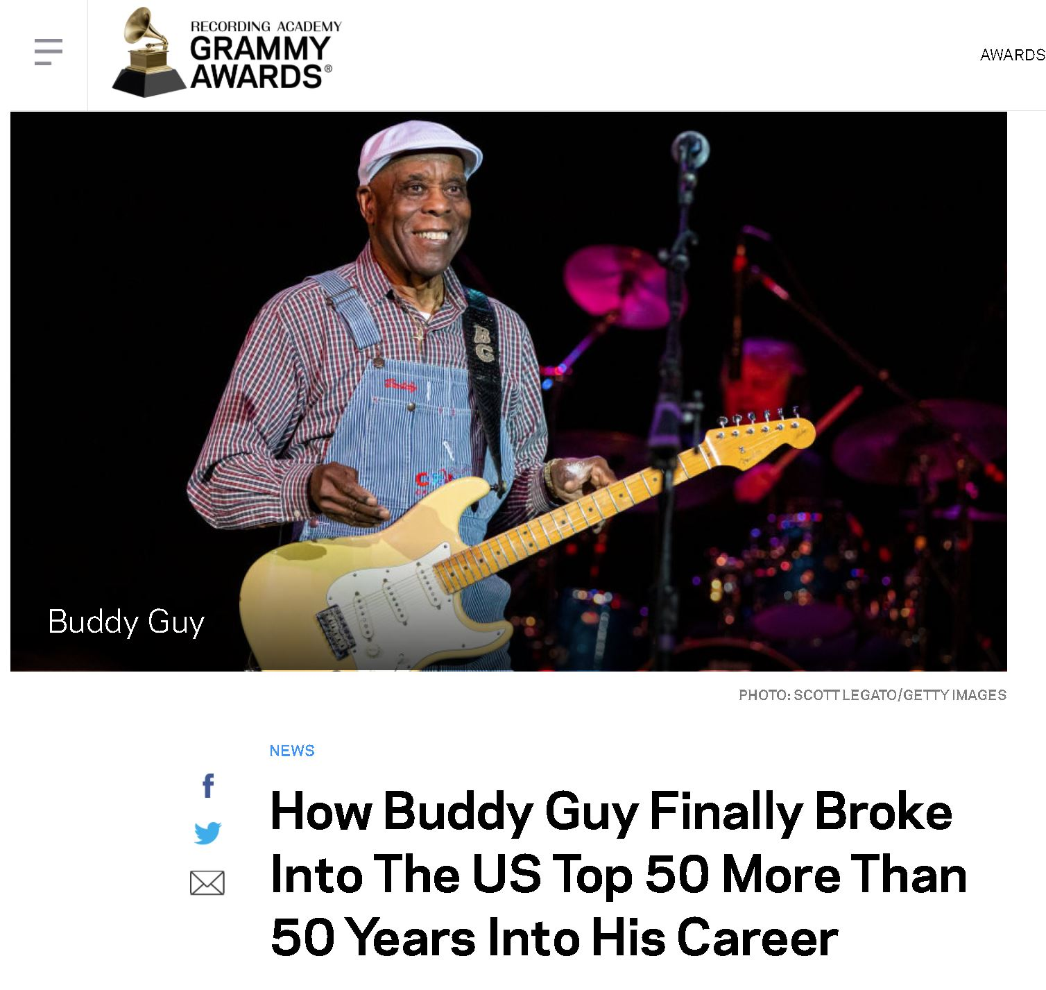 Buddy Guy - Grammys
