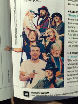 ZAC BROWN - ENTERTAINMENT WEEKLY