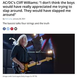 Cliff Williams of AC-DC - Music Radar