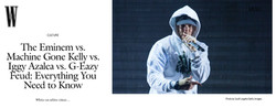 Eminem - W Magazine