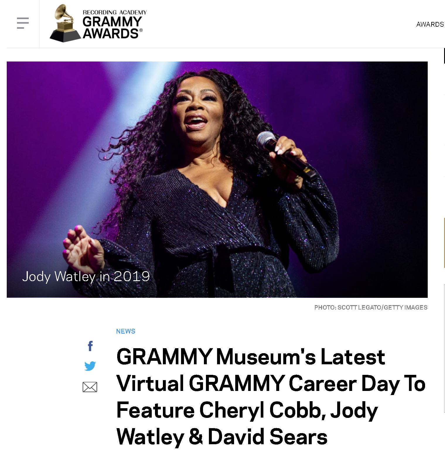 Jody Whatley - Grammy